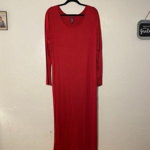 NWOT- White Mark maxi dress, size 2X.